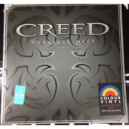 CREED-GREATEST HITS VINYL ROJO