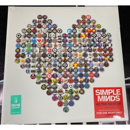 SIMPLE MINDS-40-THE BEST OF...