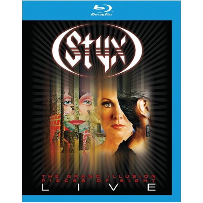 STYX-THE GRAND ILLUSION-PIECES OF EIGHT LIVE BLU-RAY