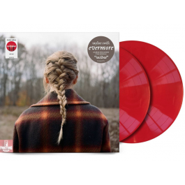 TAYLOR SWIFT-EVERMORE VINYL RED  .602435689036