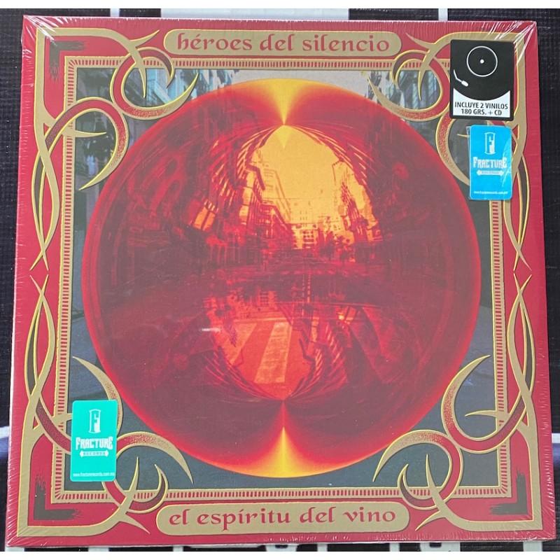 HÉROES DEL SILENCIO-EL ESPÍRITU DEL VINO 2VINYLOS/CD  .0190295216160