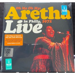ARETHA FRANKLIN-OH ME OH MY: ARETHA LIVE IN PHILLY, 1972 (2LP/ORANGE & YELLOW ) [RSD DROPS 2021] VINYL  …………0603497845026
