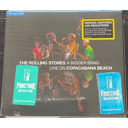 THE ROLLING STONES-A BIGGER BANG-LIVE ON COPACABANA BEACH CD/BLU RAY   602435899329