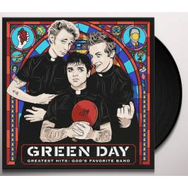 GREEN DAY-GREATEST HITS-GOD'S FAVORITE BAND VINYL. 093624909187