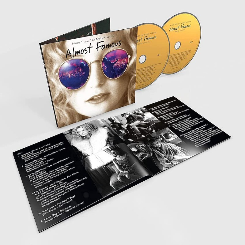 ALMOST FAMOUS-SOUNDTRACK  2CD DELUXE EDITION. .602435748771