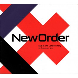 NEW ORDER-LIVE AT THE LONDON TROXY (10 DECEMBER 2011) 2CD. 5060483411392