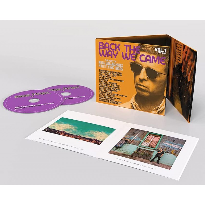 NOEL GALLAGHER'S HIGH FLYING BIRDS-BACK THE WAY WE CAME: VOL. 1 (2011-2021)  2CD.   5052945057026