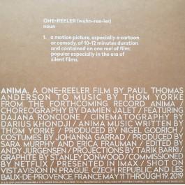 THOM YORKE-ANIMA (PREVIEW LIMITED EDITION) VINYL. XL991TE