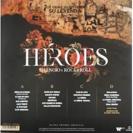 HEROES DEL SILENCIO-HEROES-SILENCIO Y ROCK&ROLL VINYL/CD. 0190295000493