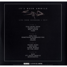 STAIND-IT'S BEEN AWHILE-LIVE FROM FOXWOODS 2019 VINYL. 4050538648508