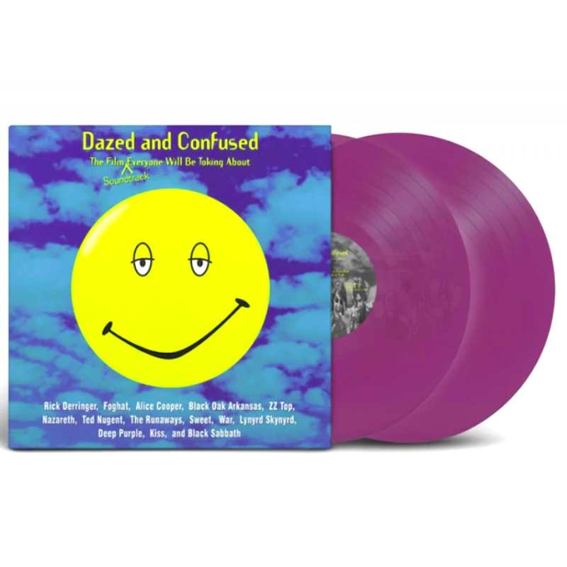 DAZED AND CONFUSED-(MUSIC FROM MOTION PICTURE) VINYL PURPURA TRANSPARENTE. 603497843886