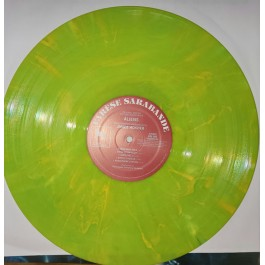 ALIENS-ORIGINAL MOTION PICTURE SOUNDTRACK-JAMES HORNER VINYL YELLOW GREEN. 888072233560