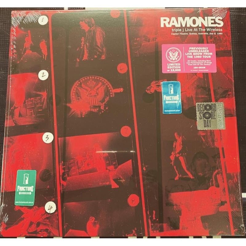 RAMONES-TRIPLE J LIVE AT THE WIRELESS-CAPITOL THEATRE, SYDNEY, AUSTRALIA, JULY 8, 1980 VINYL. 603497845989
