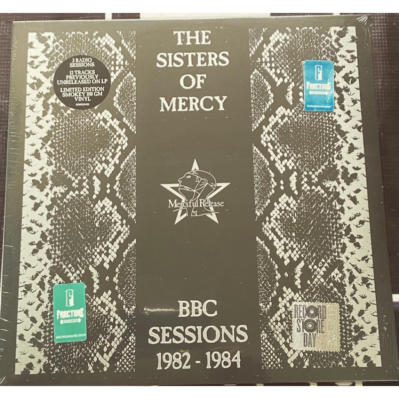THE SISTERS OF MERCY-BBC SESSIONS 1982-1984 VINYL SMOKEY TRANSLUCENT. .0190295154455