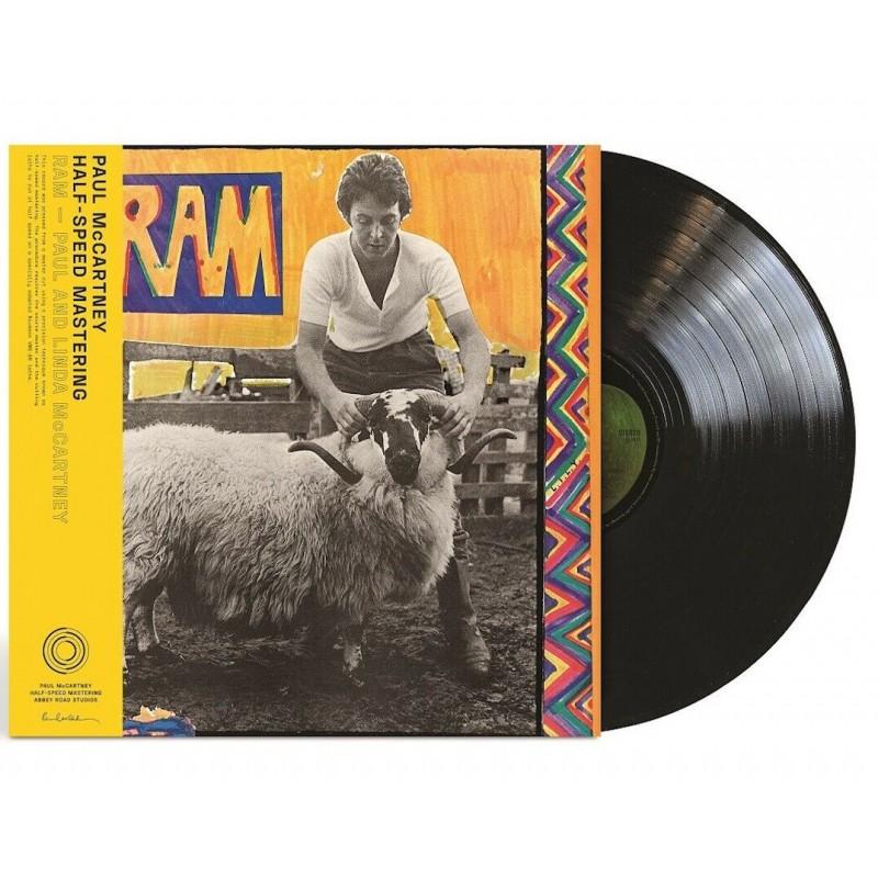 PAUL AND LINDA MCCARTNEY-RAM VINYL. 602435577234