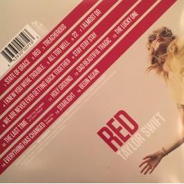 TAYLOR SWIFT-RED VINYL 843930007103