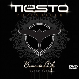 TIESTO-COPENHAGEN ELEMENTS OF LIFE WORLD TOUR 07-08 CD