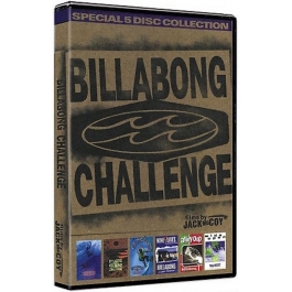 BILLABONG CHALLENGE-BY JACK MCCOY-SPECIAL 5 DISC DVD