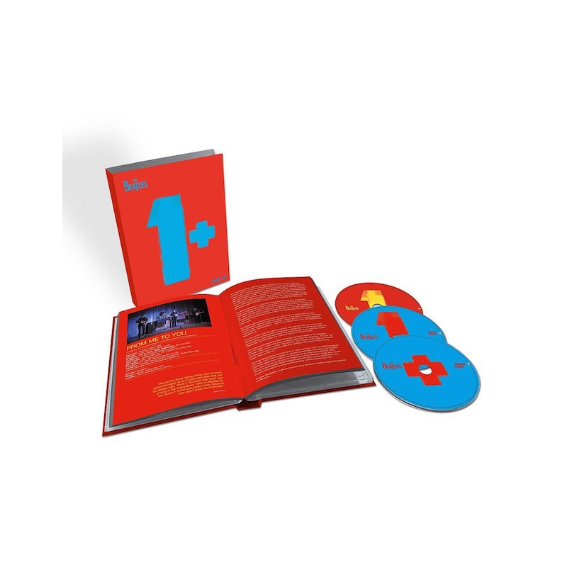 THE BEATLES-1+ LIMITED EDITION CD/BLU-RAYS