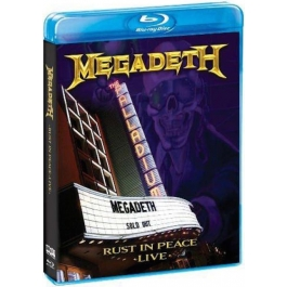 MEGADETH-RUST IN PEACE LIVE BLU-RAY