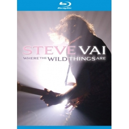 STEVE VAI-WHERE THE WILD THINGS ARE BLU-RAY