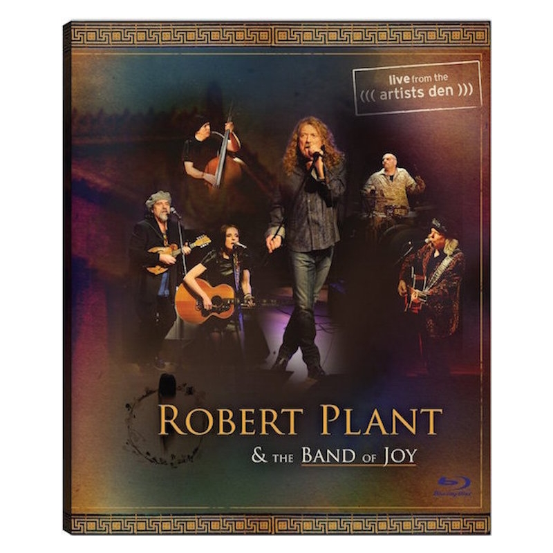 ROBERT PLANT & THE BAND OF JOY LIVE FROM THE ARTIST BLU-RAY