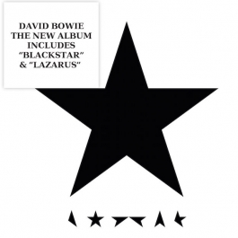 DAVID BOWIE-BLACKSTAR CD