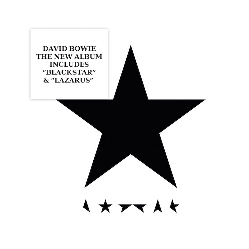 DAVID BOWIE-BLACKSTAR CD
