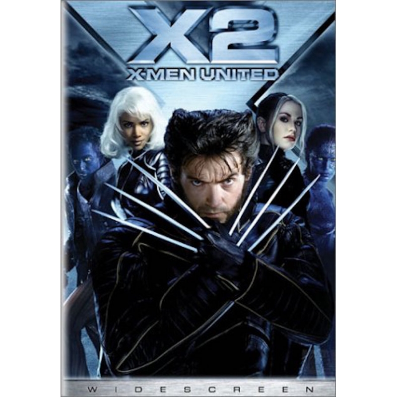 X2-X MEN UNITED DVD
