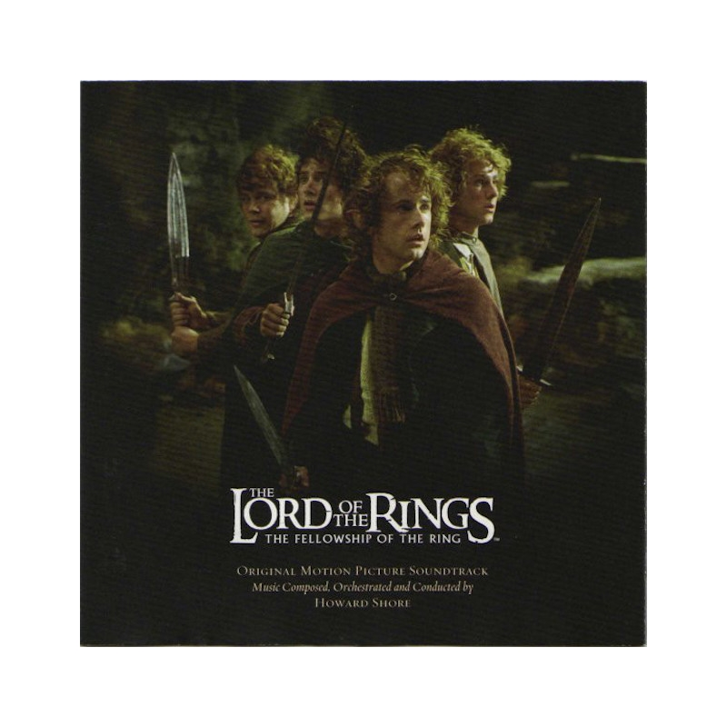 THE LORD OF THE RINGS-THE FELLOWSHIP-SOUNDTRACK CD
