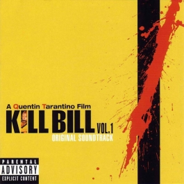 KILL BILL VOL 1 SOUNDTRACK CD