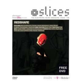 SLICES-THE ELECTRONIC MUSIC MAGAZINE-ISSUE 1-08 DVD