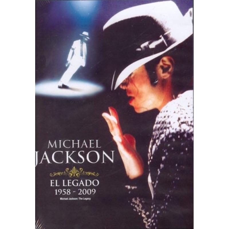 MICHAEL JACKSON-EL LEGADO 1958-2009 DVD