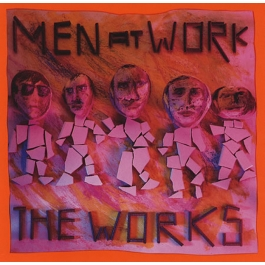 MEN AT WORK-THE WORKS CD