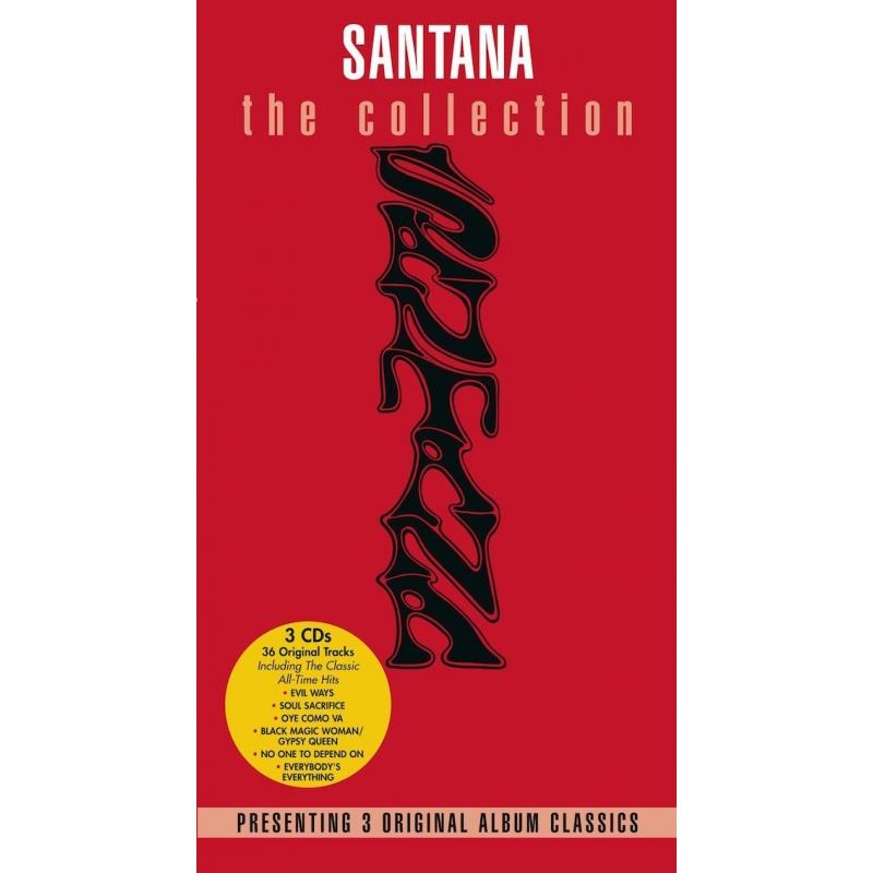 SANTANA-SANTANA/ABRAXAS/SANTANA III CD