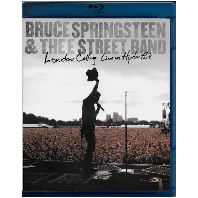 BRUCE SPRINGSTEEN-LONDON CALLING LIVE IN HYDE PARK BLU-RAY