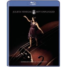 JULIETA VENEGAS-MTV UNPLUGGED BLU-RAY