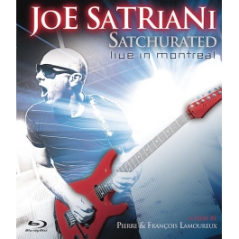 JOE SATRIANI-SATCHURATED LIVE IN MONTREAL BLU-RAY