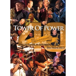 TOWER OF POWER-40 ANNIVERSARY THE FILLMORE AUDITORIUM  BLU-RAY