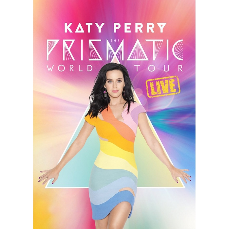 KATY PERRY-THE PRYSMATIC WORLD TOUR LIVE BLU-RAY