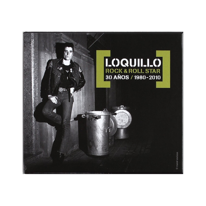 LOQUILLO-ROCK AND ROLL STAR 30 AÑOS 80-10 CD