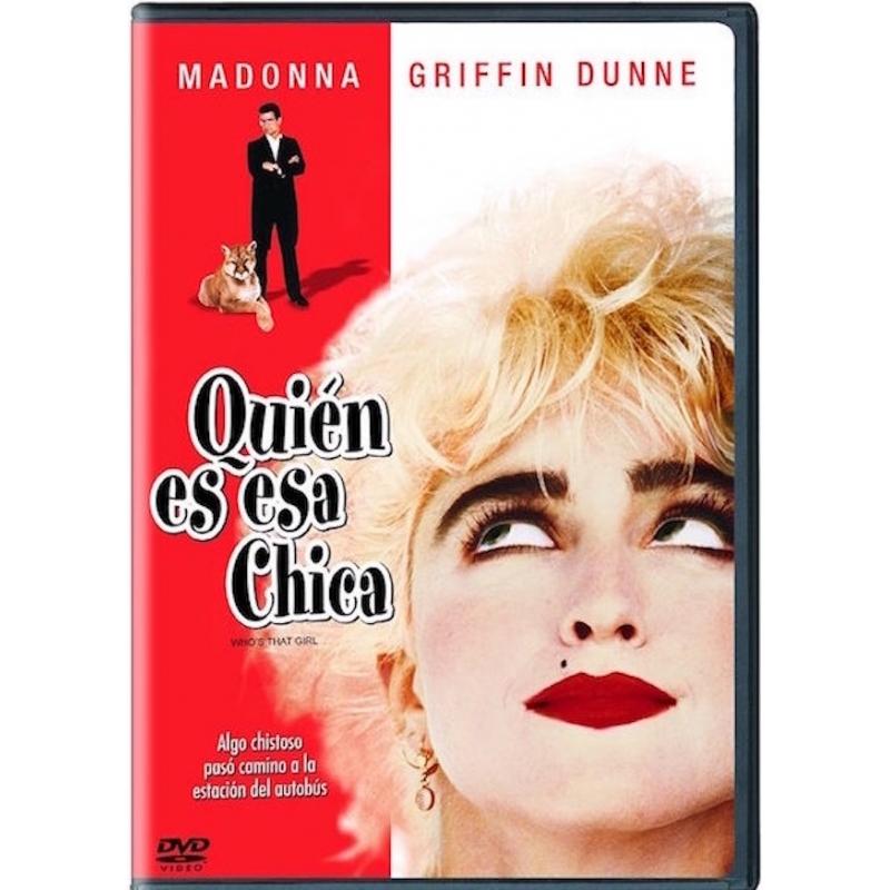 QUIEN ES ESA CHICA-PELICULA DVD