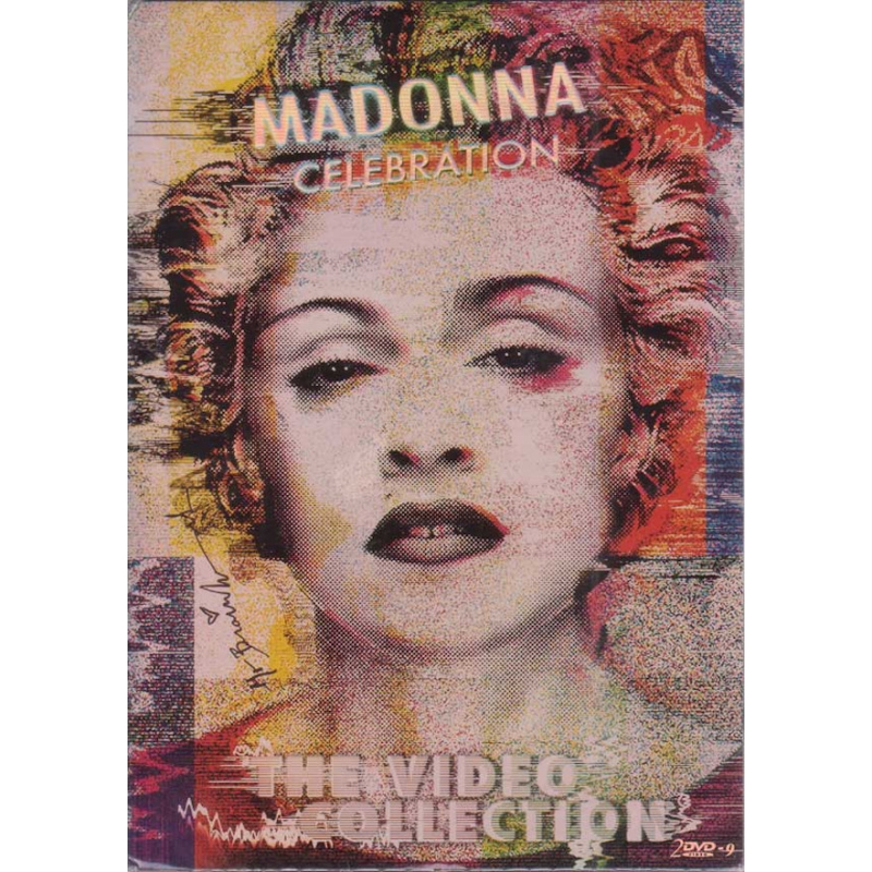 MADONNA-CELEBRATION THE VIDEO COLLECTION DVD