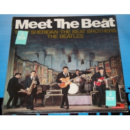THE BEATLES-TONY SHERIDAN THE BEAT BROTHERS-MEET THE BEAT VINYL
