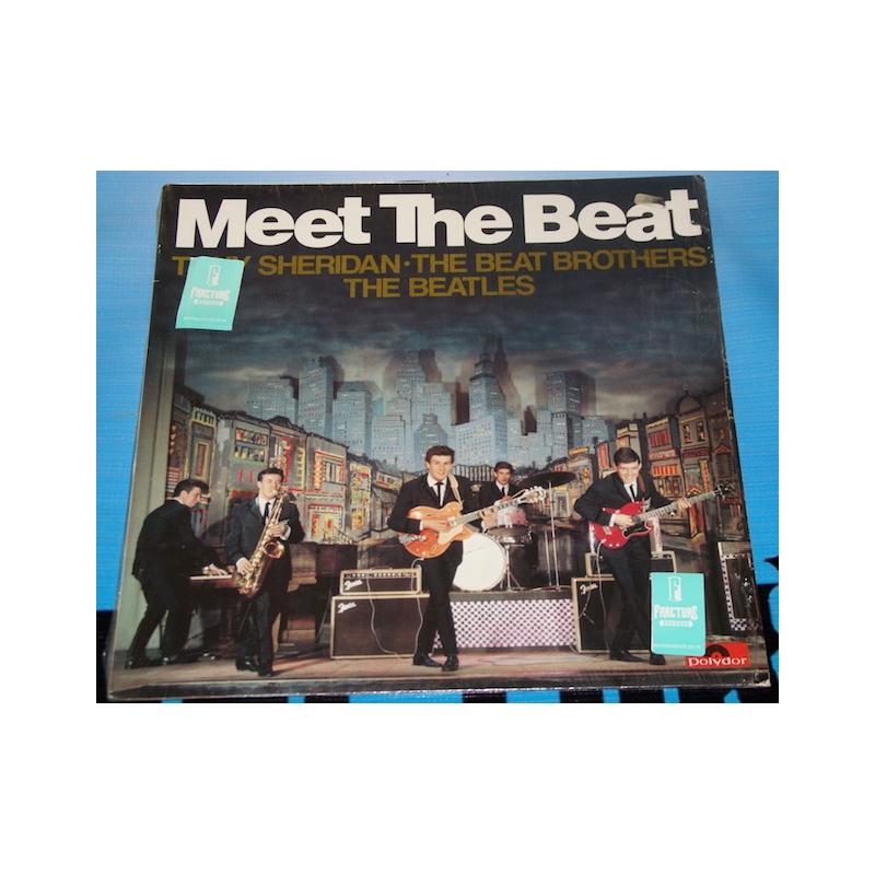 THE BEATLES-TONY SHERIDAN THE BEAT BROTHERS-MEET THE BEAT VINYL