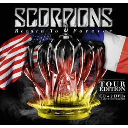 SCORPIONS-RETURN TO FOREVER TOUR EDITION CD/DVD