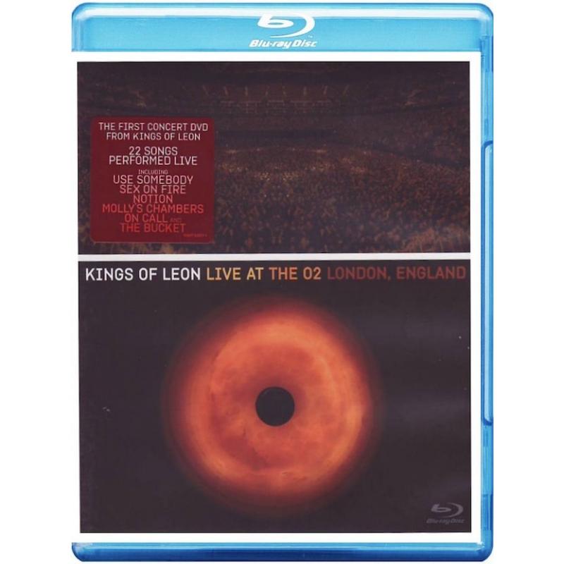 KINGS OF LEON-LIVE AT THE O2 LONDON ENGLAND BLU-RAY