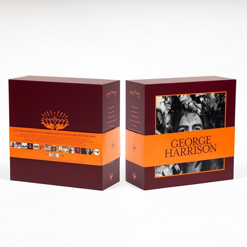 GEORGE HARRISON-THE VINYL COLLECTION BOX SET