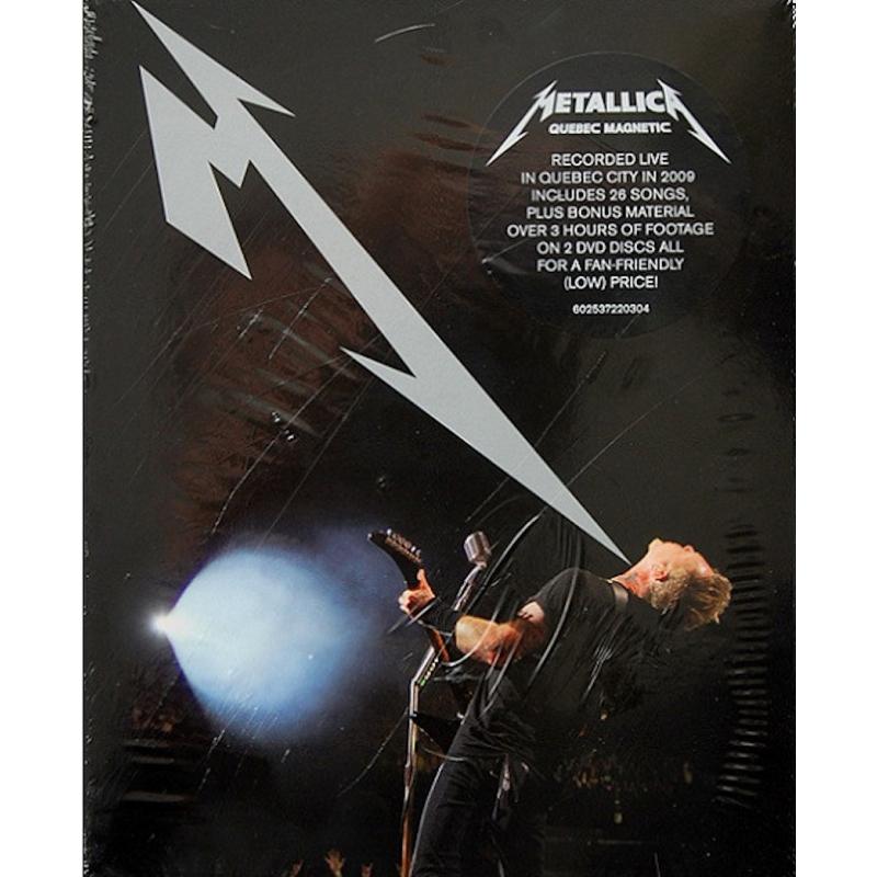 METALLICA-QUEBEC MAGNETIC DVD