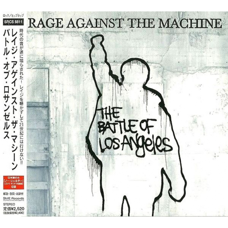 RAGE AGAINST THE MACHINE-THE BATTLE OF LOS ANGELES CD